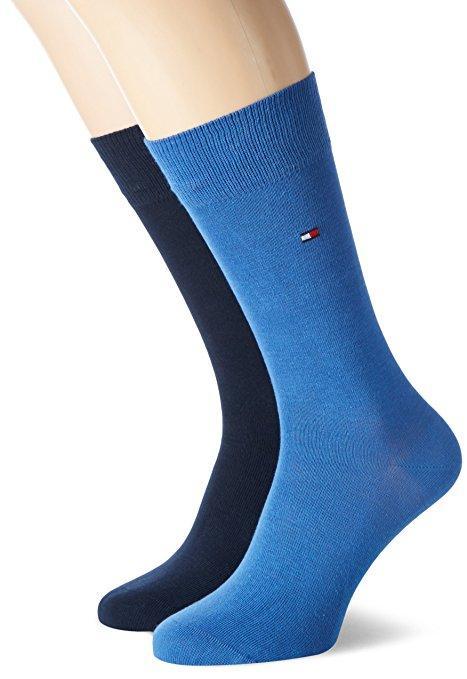 [Prime] Lot de 2 paires de chaussettes Tommy Hilfiger Classic (43/46) - bleu
