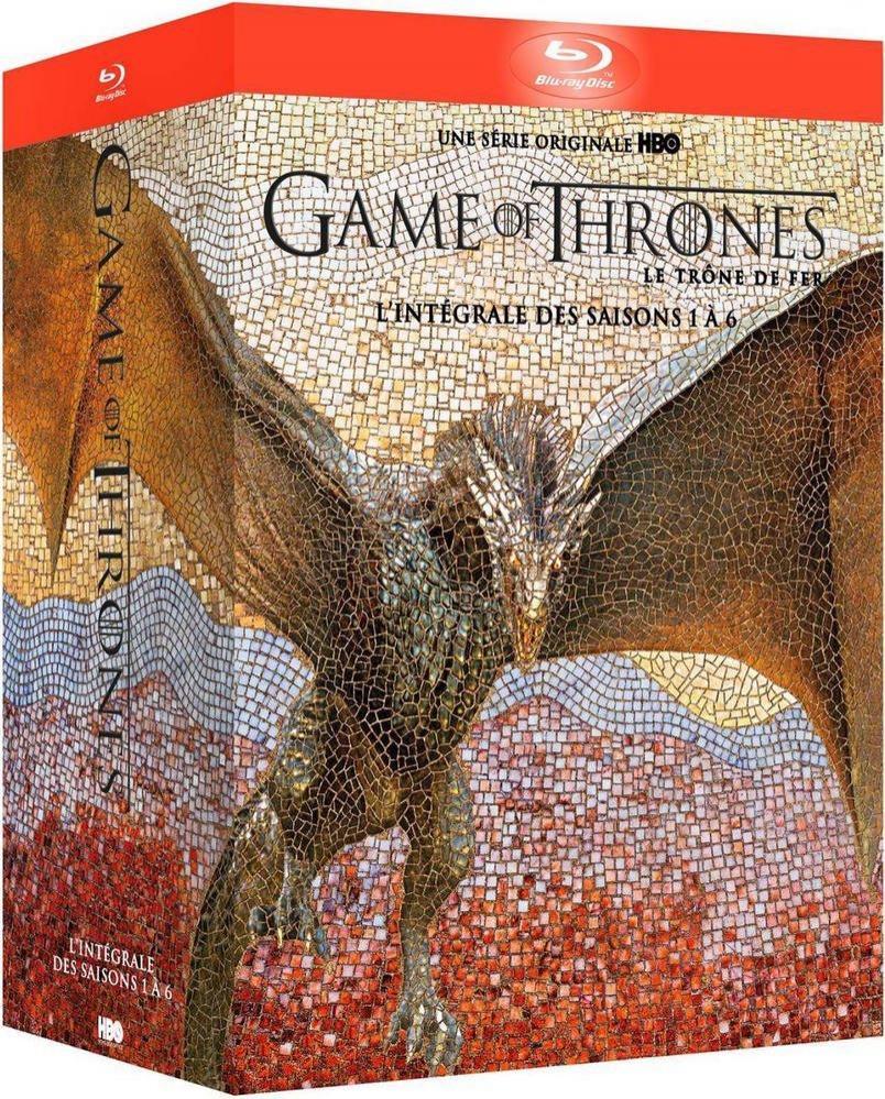 [Prime] Coffret Blu-ray Game of Thrones (Le Trône de Fer) - L'intégrale des saisons 1 à 6