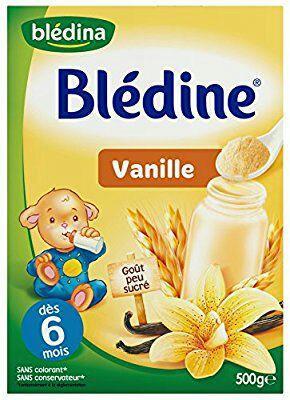 [Prime] Lot de 6 Blédina Blédine Saveur Vanille de 500 grand