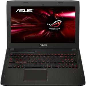 "[Prime] PC portable 15.6"" full HD Asus ROG FX502VM-FY526T (i5-7300HQ, GTX-1060, 8 Go de RAM, 1 To + 128 Go en SSD)"