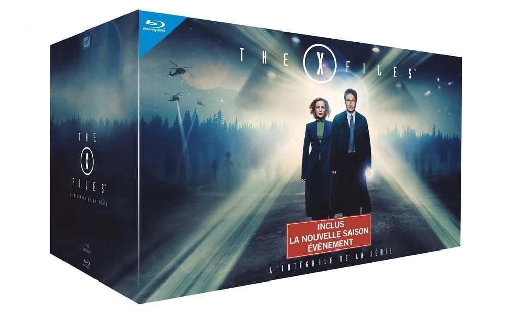 [PRIME] The X-Files - L'intégrale des 10 saisons - Édition Limitée en Blu-ray