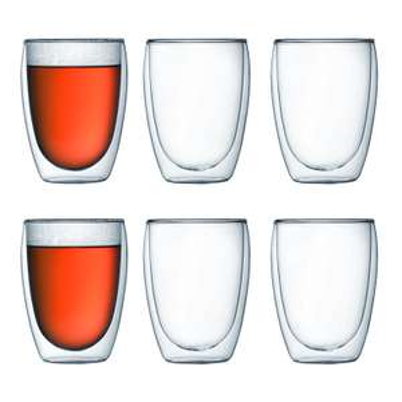 [Prime] Lot de 6 verres Bodum pavista 25cl