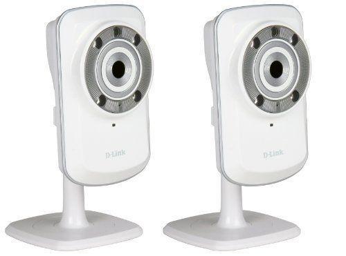 [Prime] Pack de 2 Caméras IP D-Link DCS-932L Jour/Nuit WiFi N