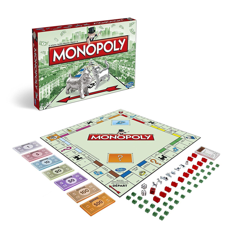 [Prime] Jeu de Plateau Monopoly Classique Hasbro - 94470