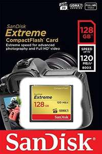 [Prime] Carte Compact Flash Sandisk Extreme 128 go