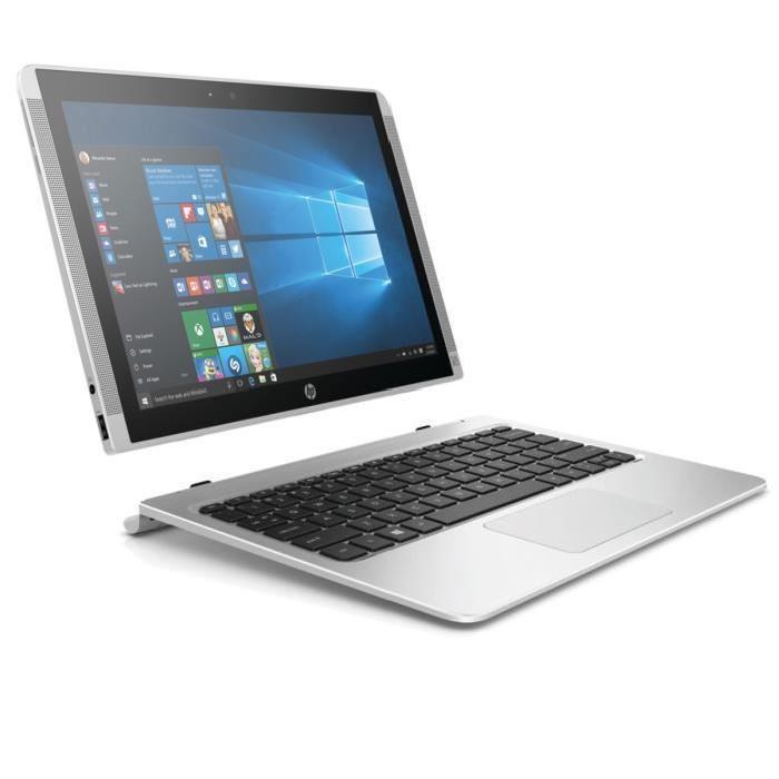 "PC Portable 12"" HP 12-b101nf x2 - Full HD IPS, m3-6Y30, RAM 4 Go, SSD 128 Go, Windows 10"