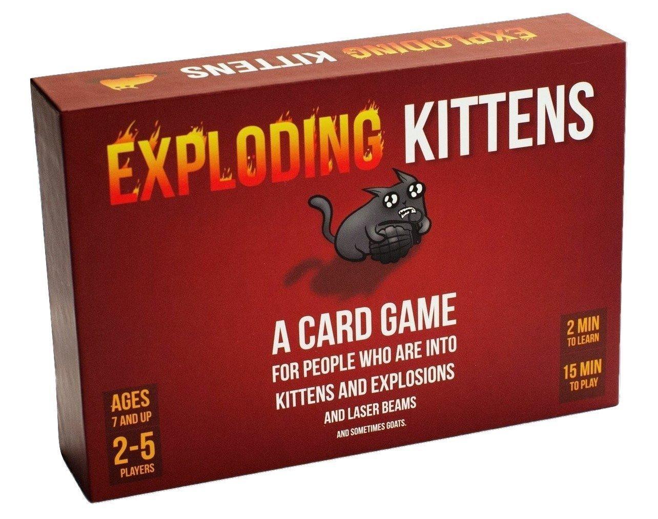 [Prime] - Jeu de cartes  Exploding Kittens (version anglaise)