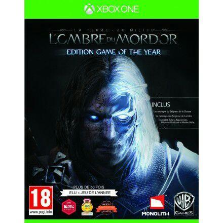 Sélection de jeux Xbox One et Xbox 360 (Dématérialisé) en promotion - Ex : L'ombre du Mordor édition Game of the Year sur Xbox One