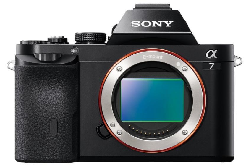 [Prime DE] Appareil photo numérique Sony A7 ILCE-7 - Boîtier nu, Noir