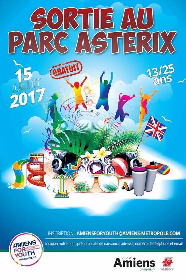[13-25 ans] Entrée gratuite au parc d'Astérix le 15 Juillet 2017 (sur invitation)