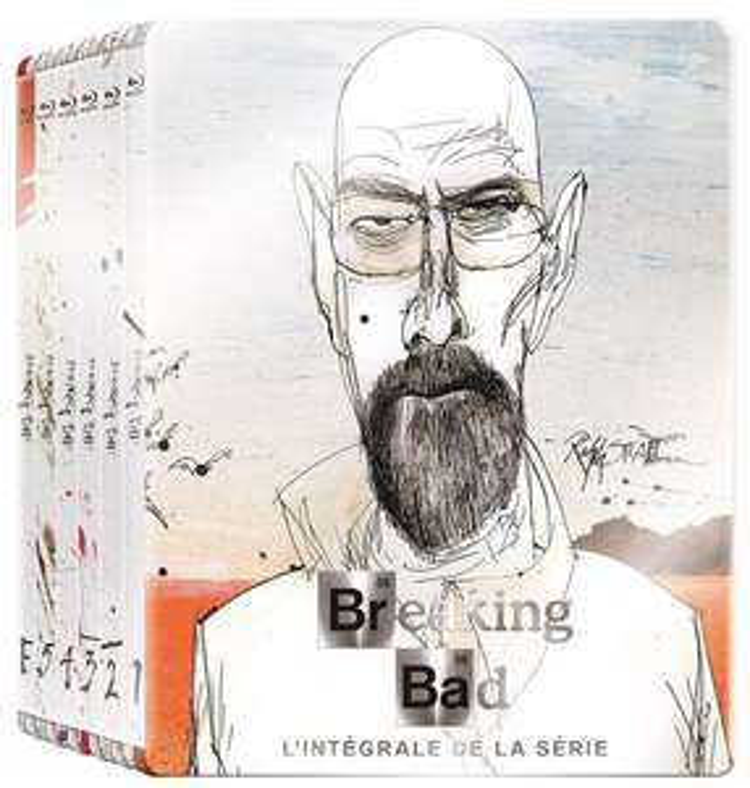 [Prime] Coffret Blu-ray Intégrale Breaking Bad en steelbook