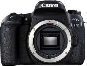 [Prime DE] Appareil Photo Reflex Canon EOS 77D Nu