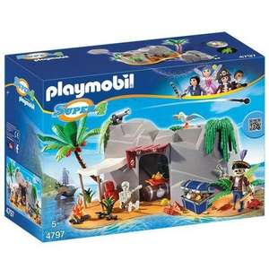 [Prime] Playmobil 4797 Super4 - Caverne Des Pirates
