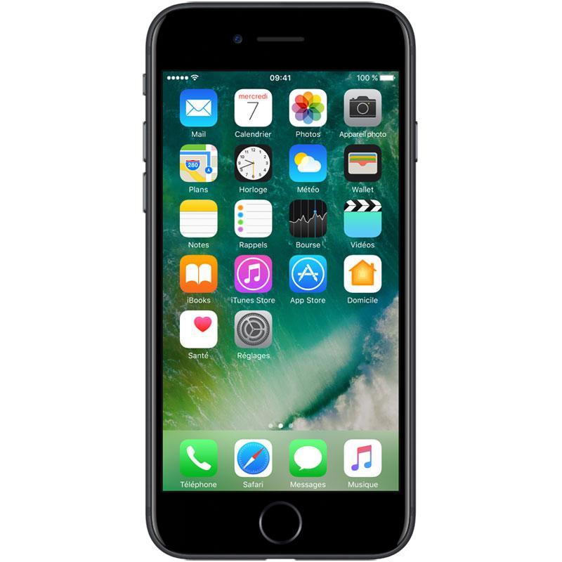 Smartphone Apple iPhone 7 32 go Noir mat (+ 40.25€ en SuperPoints via l'application)