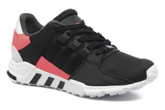 Chaussures adidas Originals EQT Support RF W - noir / rose (du 36 au 43 1/3)