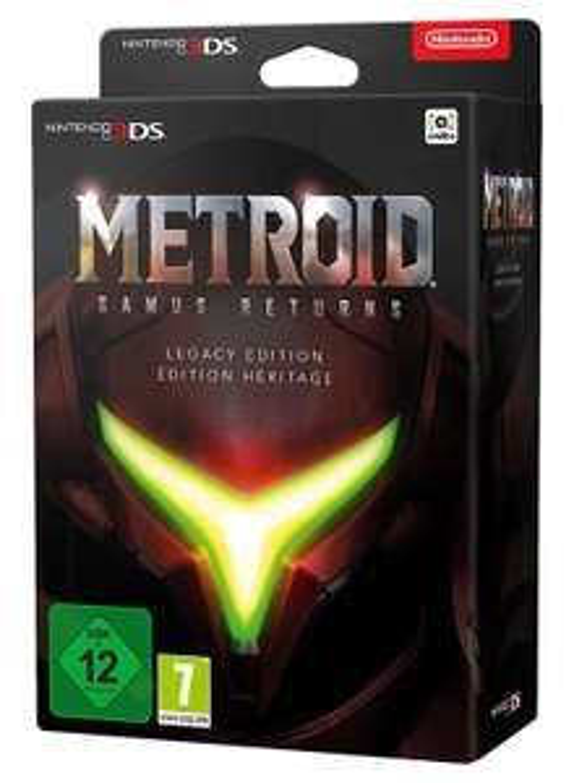 Metroid Samus Returns: Legacy Edition sur Nintendo 3DS
