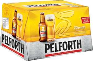 Pack de 20 bières blondes Pelforth - 25 cl (via BDR)