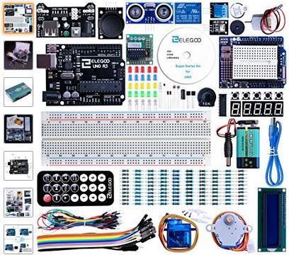 [Prime]  Pack de démarrage Elegoo Arduino UNO R3 (inclus)