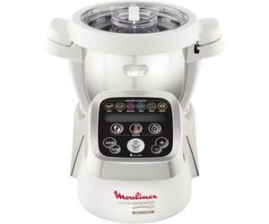 Robot de cuisine compact Moulinex Companion HF800 (1550 W) + lot d'accessoires