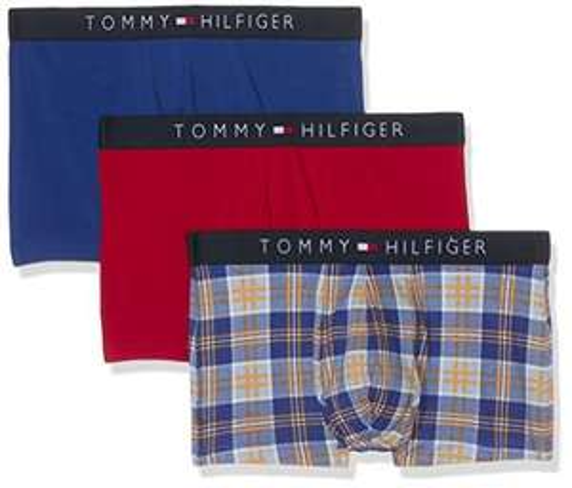[Prime] Lot de 3 boxers homme Tommy Hilfiger Taille M et XL - Multicolore
