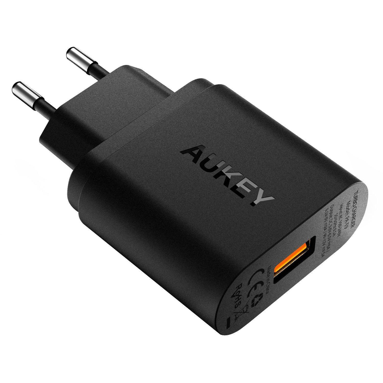 [Prime] Chargeur secteur Aukey - 1 port USB Quick Charge 3.0