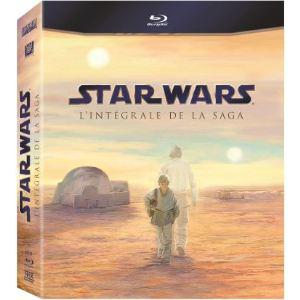 Star Wars l'intégrale - Coffret 9 Blu-Ray (39,99€ via Buyster)