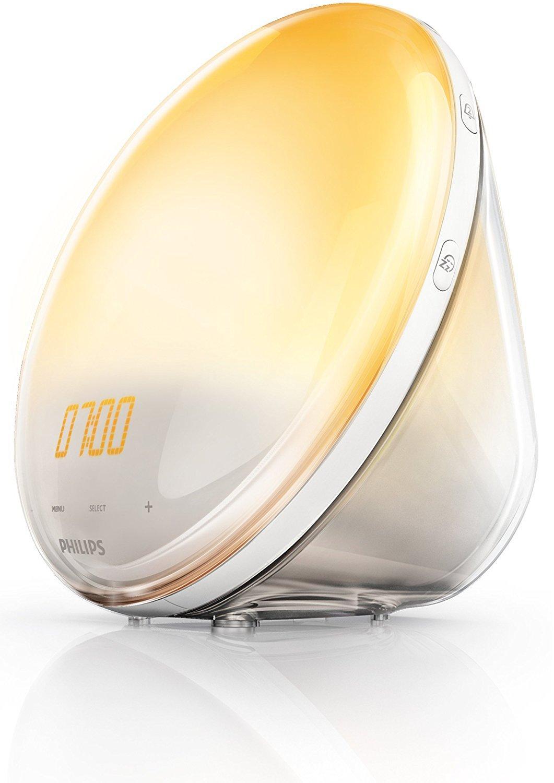 [Prime] Eveil Lumière avec Lampe LED Philips HF3520/01 - Fonction Red Shift