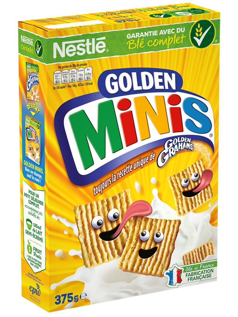 Paquet de céréales Nestlé Golden Minis - 375 g
