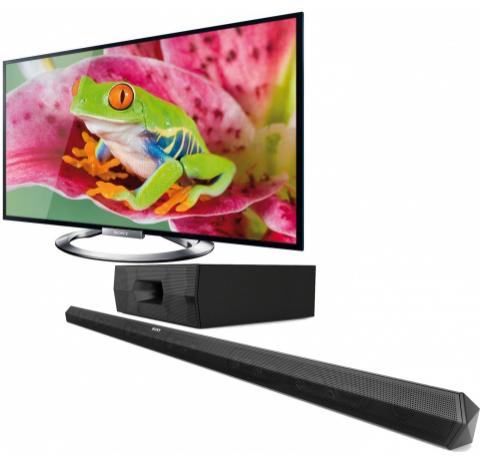 """Télévision 55"""" Sony KDL55W905 Full HD 3D + Barre de son Sony HT-ST3"""