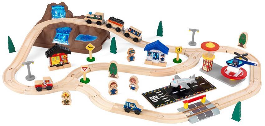 Circuit de Train KidKraft 17826 - Bucket Top