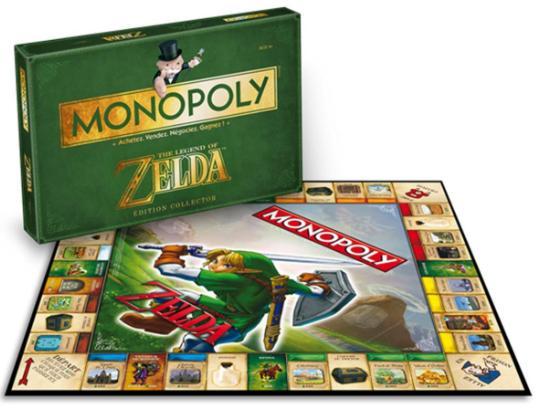 Jeu de société Monopoly Edition Zelda