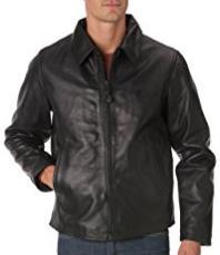 [Prime] Veste en cuir Schott Nyc Lc5100 Noir pour Hommes - Tailles au choix