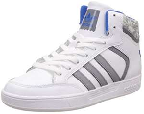 [Prime] Chaussures Adidas Varial Mid Blanc / Gris pour Hommes - Tailles au choix