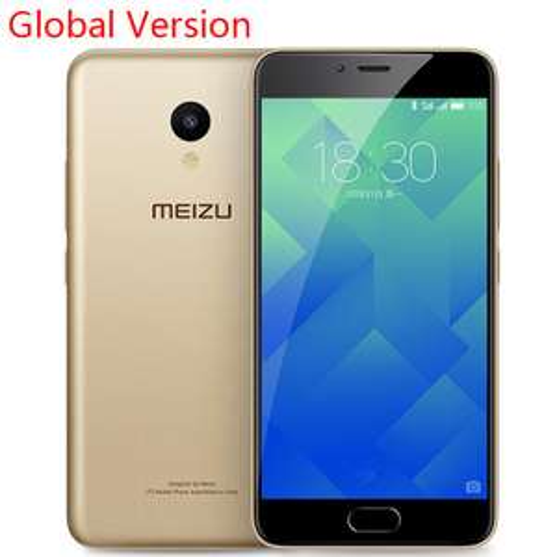 "Smartphone 5,2"" Meizu M5 Or - 4G (B20) IPS HD, MT6750, RAM 2Go , 16Go"