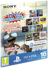 Carte mémoire Sony PS Vita 16 Go + 10 jeux (Dématérialisés)
