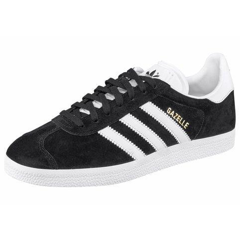 Baskets homme Adidas Originals Gazelle - Noir / blanc (Taille 42 - 44 - 45 1/3)