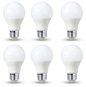 [Prime] Lot de 6 ampoules LED AmazonBasics E27 9,5W