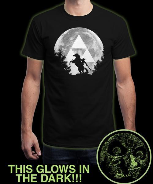 T-shirt Phosphorescent Zelda - Tailles au choix