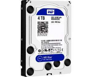 "Disque dur interne 3.5"" Western Digital Blue Desktop SATA III - 4 To"
