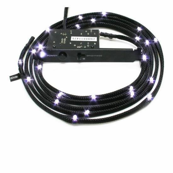 [Cdiscount à Volonté] Câble LED NZXT - différents coloris, 2 m à 12.99€ ou 1 m