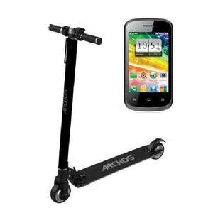 [Cdiscount à volonté] Trottinette Electrique Archos Bolt Noir + Smartphone F35 Touch