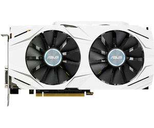 Carte graphique Asus GeForce GTX-1060 Dual (6 Go) - via l'application