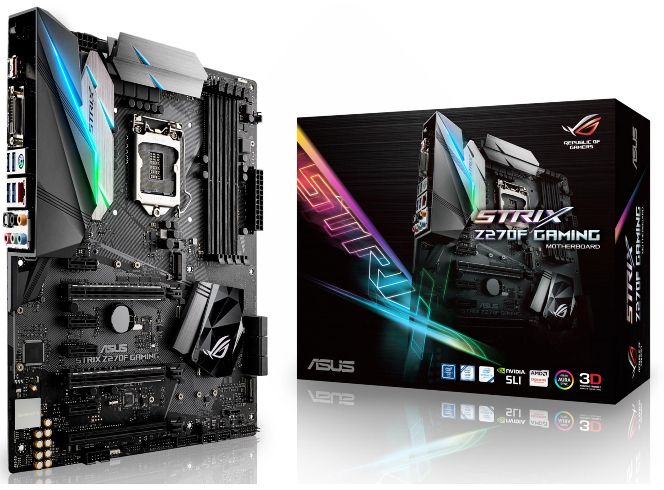 Carte mère Asus Strix Z270F Gaming - Socket 1151, Z270 Kabylake