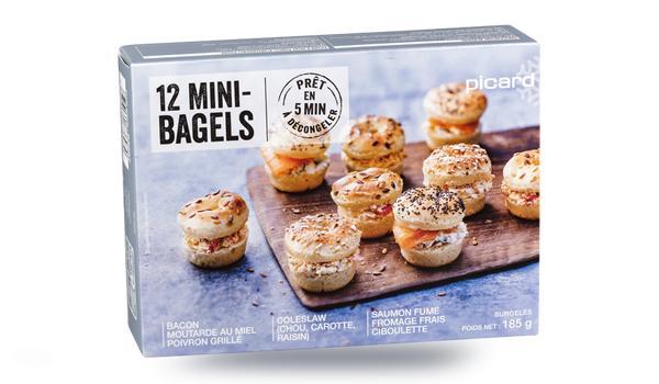[Carte Picard & Moi] Mini-cake chèvre tomate courgette offert dès 20€ d'achat ou 12 Mini bagels offerts dès 30€ d'achat