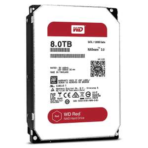 "[Prime] Disque dur interne 3.5"" WD Red WD80EFZX IntelliPower - 128 Mo, SATA III, 8 To"