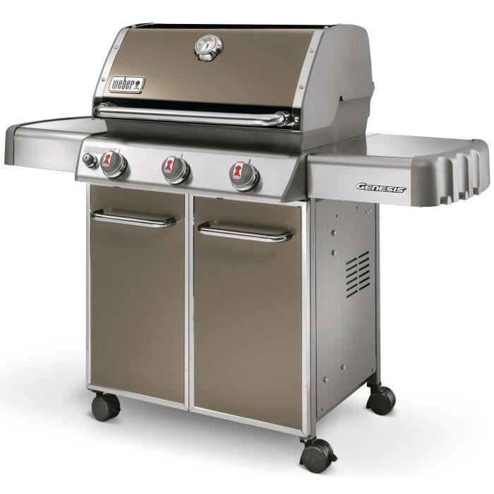 [CDAV] Barbecue à gaz Weber Genesis E-310 - Smoke grey