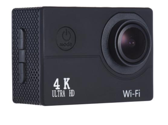 "Caméra sportive 4K - Capteur Sony IMX179, Ecran LCD 2"", 16 MP, 4K 30fps / 1080p 60fps, Allwinner V3, WiFi (Noir)"