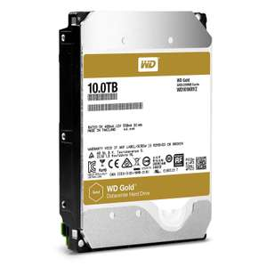 "[Prime] Disque dur interne 3.5"" Western Digital Gold (7200 tours/min) - 10 To"