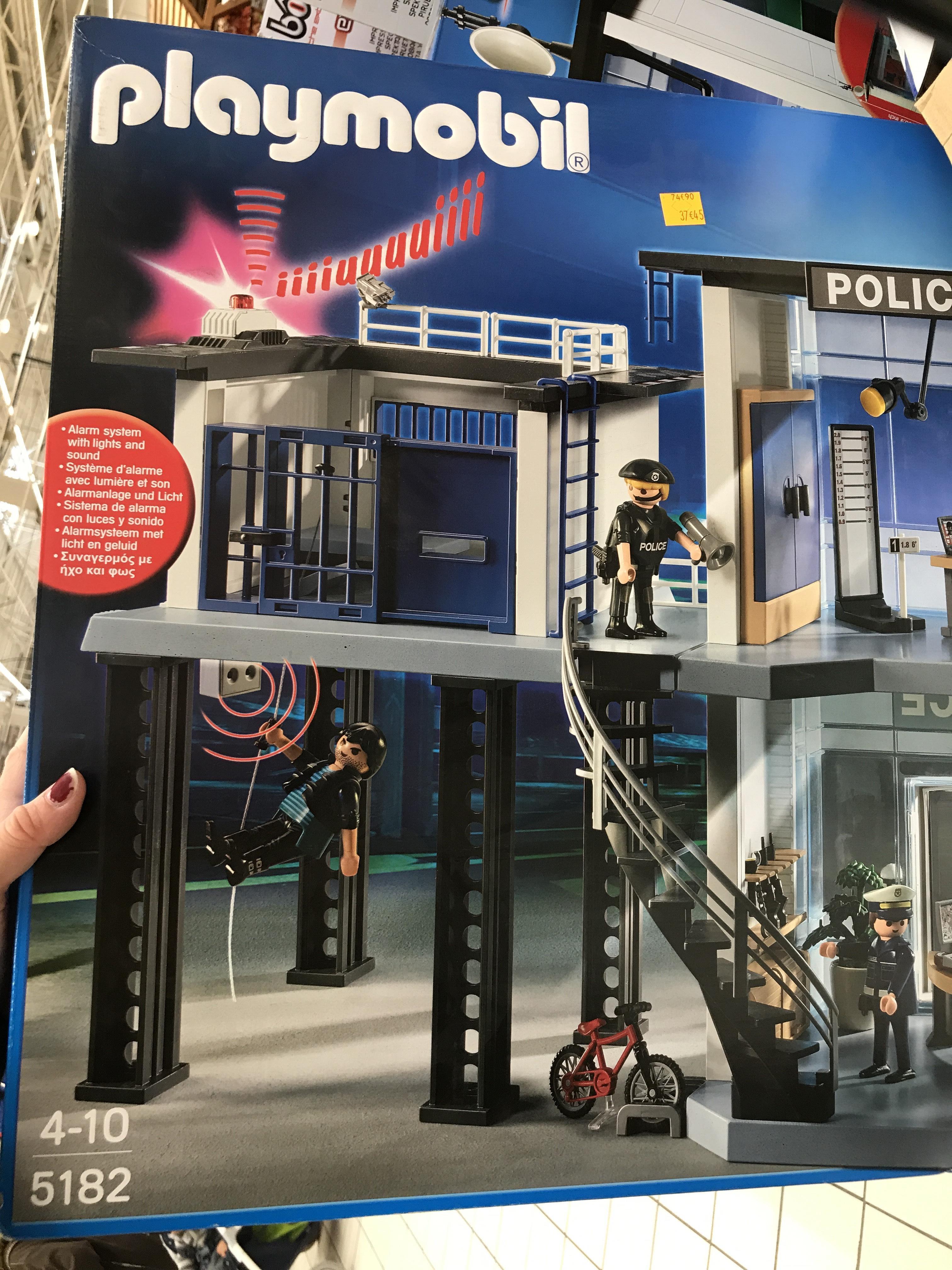 Playmobil - Commissariat de police 5182