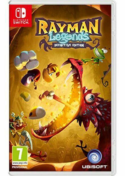 Rayman Legend Definitive Edition sur Nintendo Switch